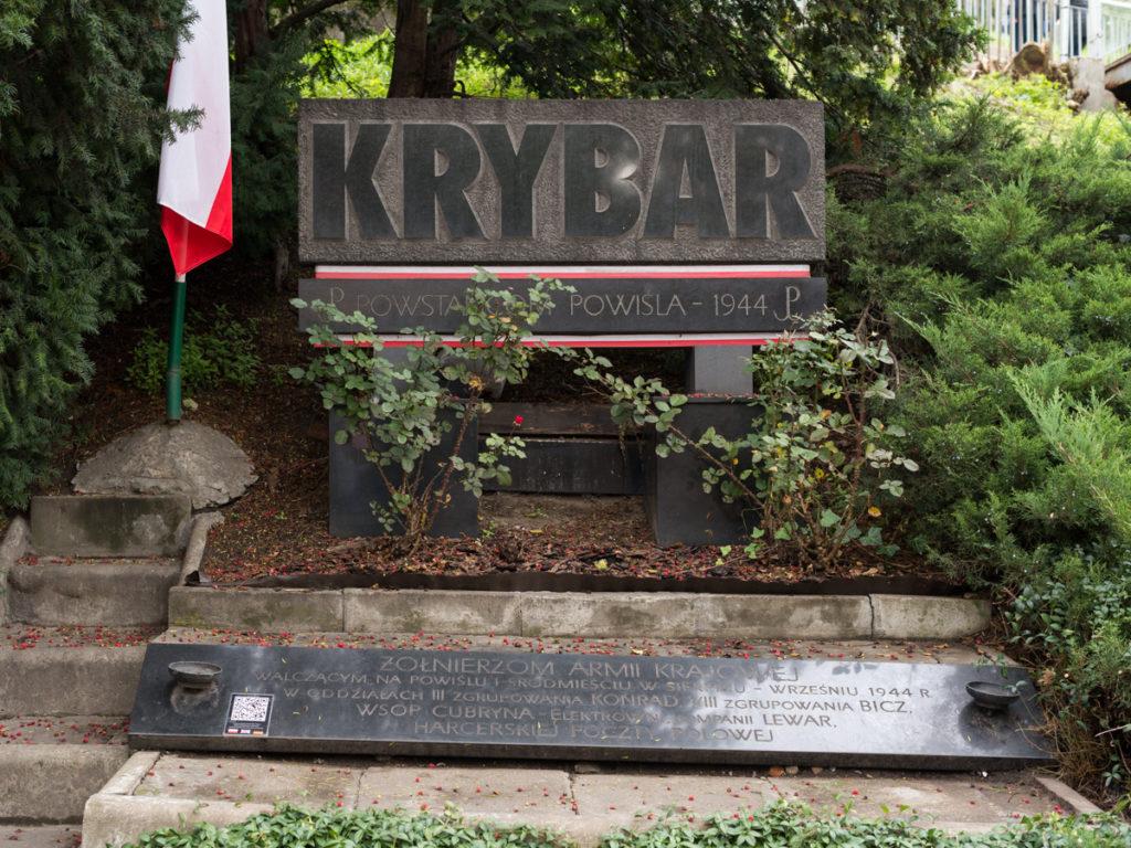 """Denkmal der Kampfgruppe """"Krybar"""""""