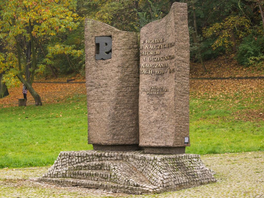 Das Denkmal der Geheimen Lehrerorganisation