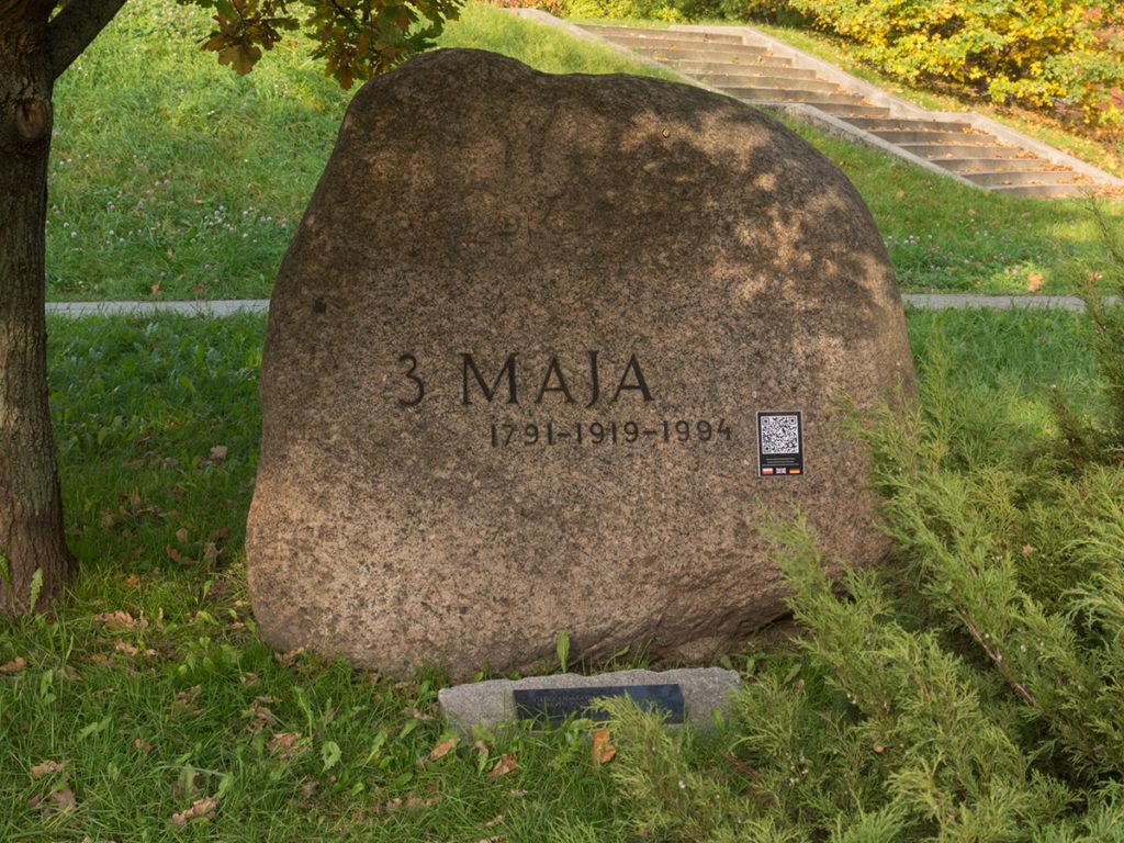 Kamień Pamięci Konstytucji 3-go maja