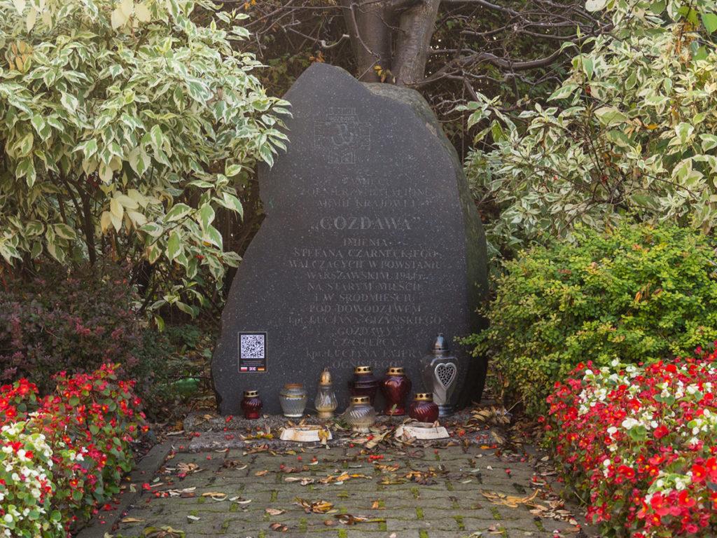 """Der Stolperstein des Bataillons """"Gozdowa"""""""