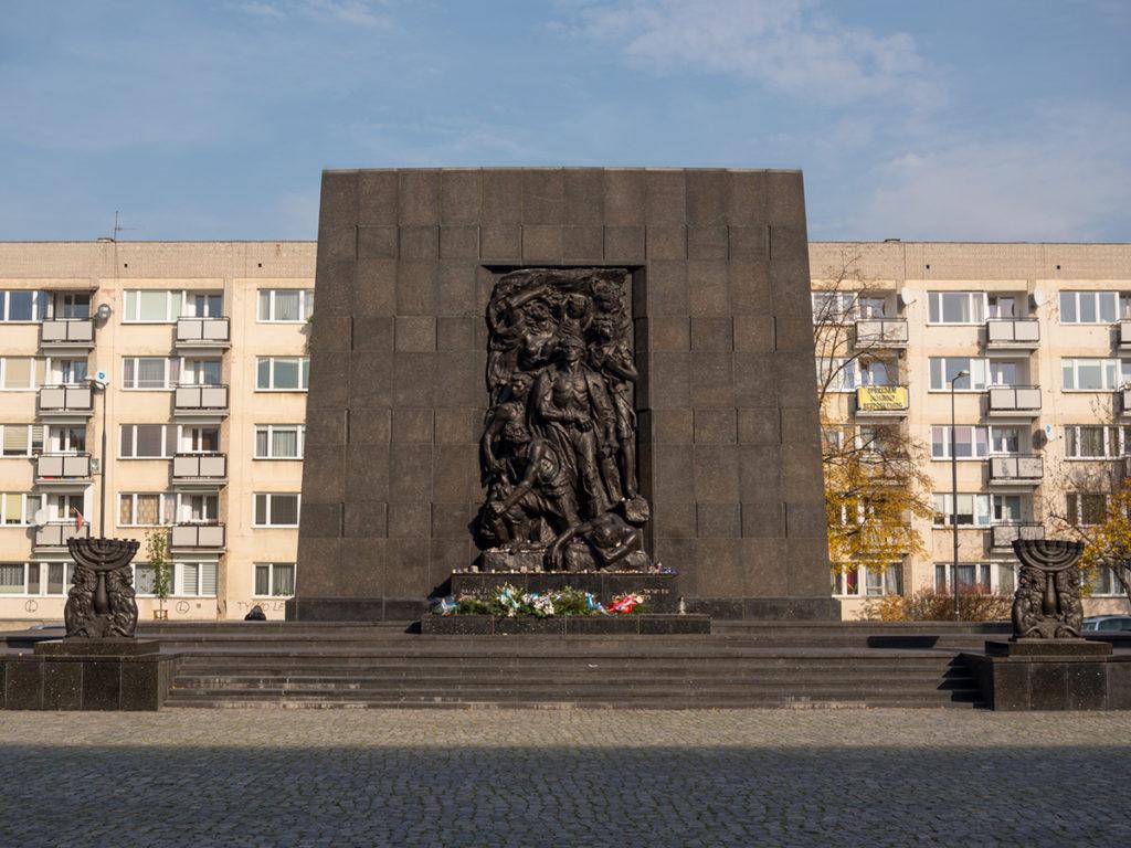 Das Denkmal der Helden des Ghettos