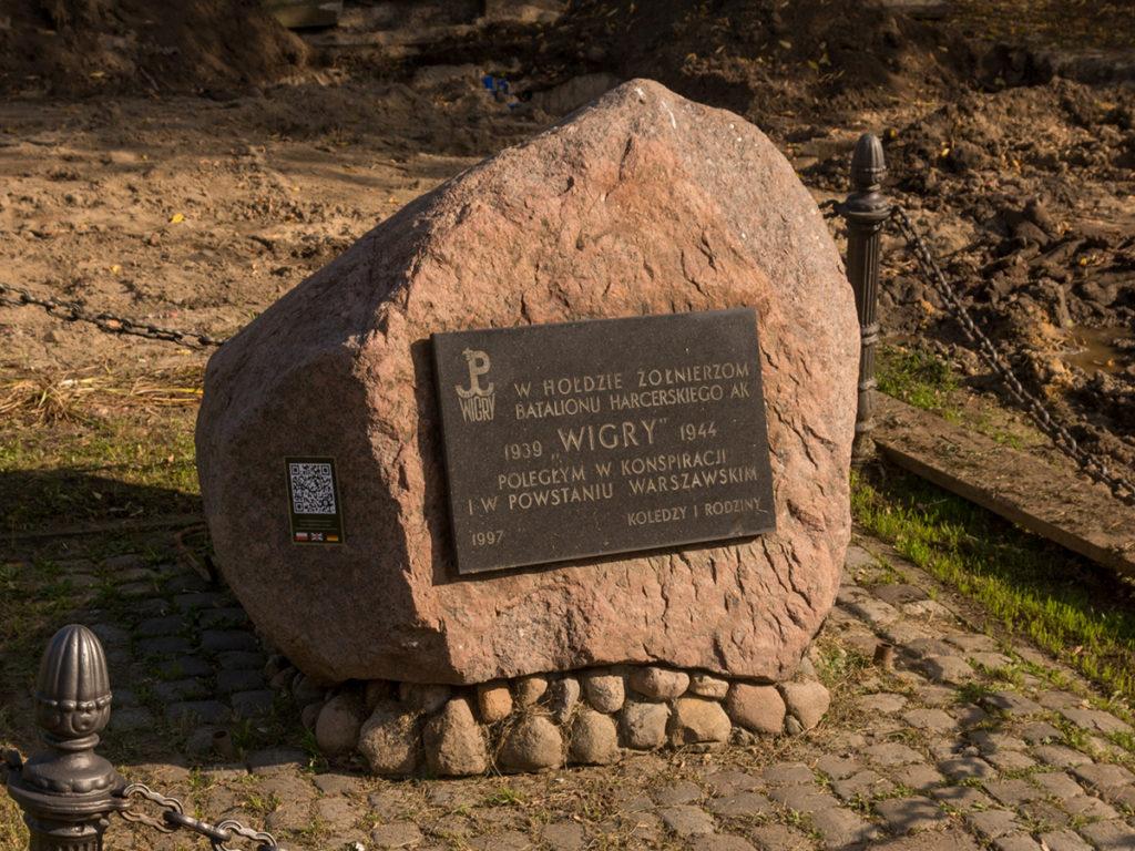 """Kamień Pamięci Batalionu """"Wigry"""""""
