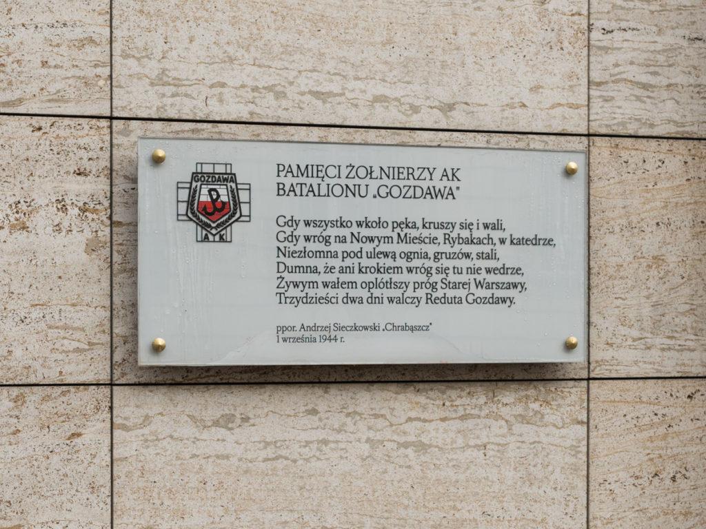 "Kamień Pamięci Batalionu ""Gozdawa"""