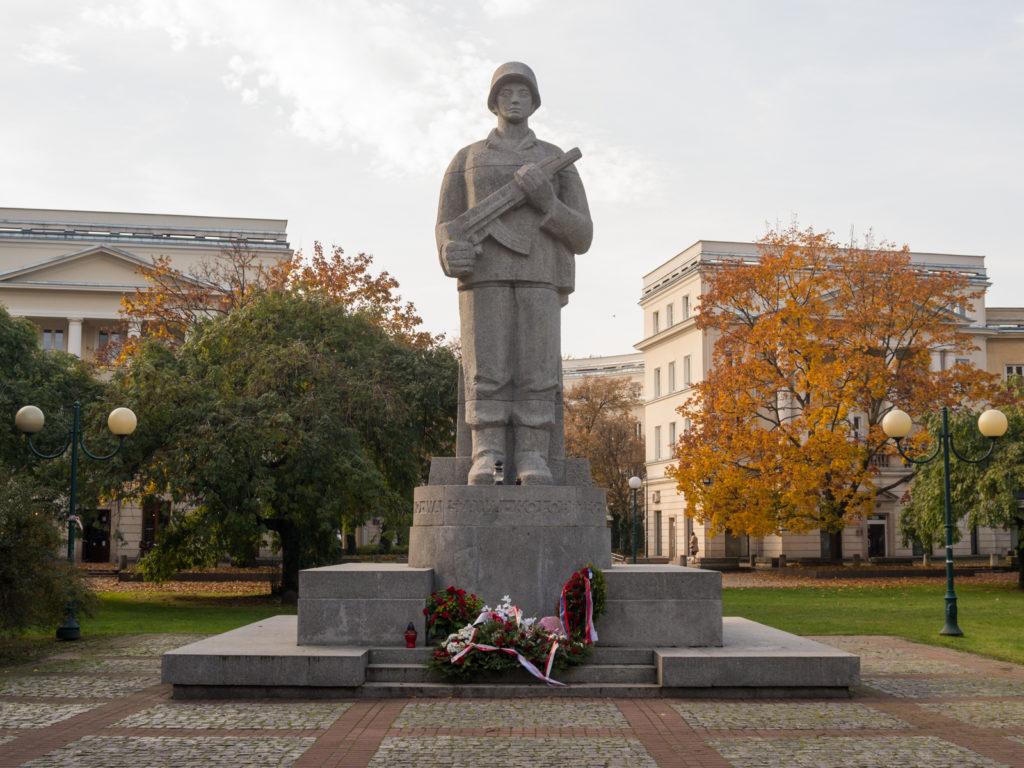 Das Denkmal für die Soldaten der ersten polnischen Armee